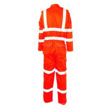 Macacão de roupa de trabalho de tecido resistente ao fogo
