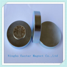 Rare Earth NdFeB Disc Magnet with Zinc Plating