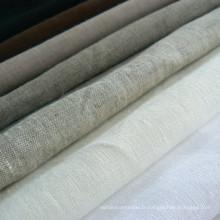 100% Tissu de lin en tissu de lin pur Tissu en lin
