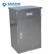 SKS006-1 Clinic Stainless Steel Modern Bedside Cabinet