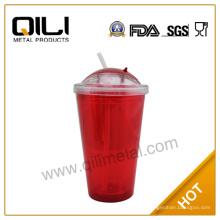 16oz BPA libre nuevo producto vaso plástico taza con sorber