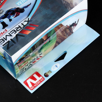 Transparent pet rigid sheet films for packing
