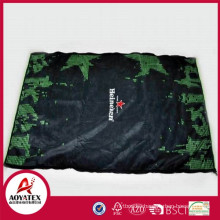 Promotional gift microfiber picnic blanket, High quality famous brand picnic mat, New design waterproof outdoor blanket