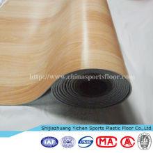 PVC en plastique déployer la feuille de plancher de l'événement