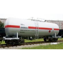 Vagón cisterna de aceite ligero gq70 70t-Level