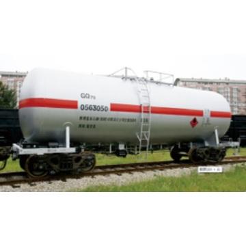 Vagón cisterna de aceite liviano gq70 70t-Level