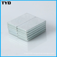 Zn Super Strong Permanent Rare Earth NdFeB Magnet Block
