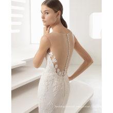 Beautiful Back Lace Mermaid Wedding Dress