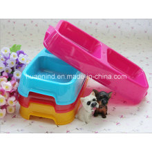 Whole Colored Double Bowl for Dog or Cat