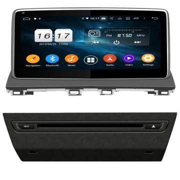 Android auto dvd gps voor Mazda 3 2013-2017