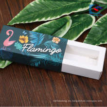 Cajas de envasado de lápiz labial líquido para cosméticos con su propio logotipo