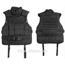 Colete tático militar de Kevlar de pouco peso veste a veste à prova de balas escondida da armadura