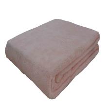 Coral Velvet Fleece Throw Blanket