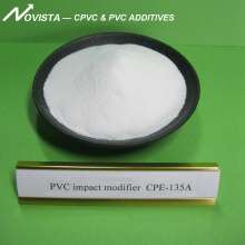 Chlorinated Polyethylene CPE135A for PVC profile and pipe