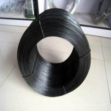 Fil de fer enroulé noir doux / Fil de fer noir