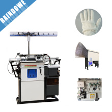automatic industrial glove knitting machine for making safety cotton working gloves