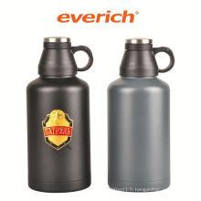 Bouteille de bière en acier inoxydable promotionnel personnalisé