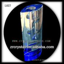 Vaso de cristal agradável L027