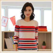 Чистый 100% кашемир/шерсть шорты женщин свитер