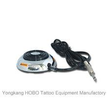 Interruptor de aço inoxidável do pé da fonte de alimentação da tatuagem da máquina do tatuagem do pedal