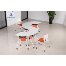 New Simple Design High Quality Office Furniture Training Desk and Chair