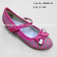 Moda dulce único zapatos princesa zapatos zapatos de la danza de la muchacha (ff0808-44)