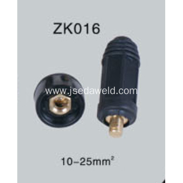 Welding Cable Jointer Plug and Stock Male Female 10-25mm²