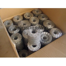 Hot DIP Galvanized Coil Mesh, Also Called Brick Mesh