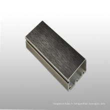 Profil en alliage d'aluminium 6063 Profil en aluminium personnalisé