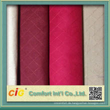 100% polyester embroidery suede fabric for upholstery for car