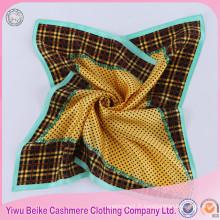 Écharpe de cou de soie de satin d'impression de Digital d'écharpe de Madame à vendre