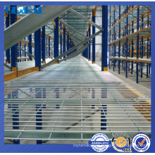 heavy duty zinc plated steel wire mesh decking/wire panel for steel racking system