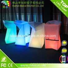 RGB Color Change LED High Chair for Bar
