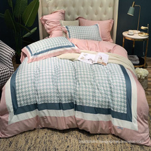 Luxury Cheap Price Bed Linen Cotton Printed Comfortable for Queen Bed Bedsheet
