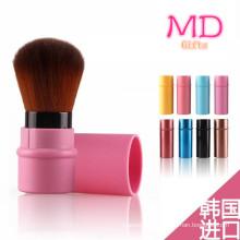 2015 Venta caliente rosa Kabuki pincel retráctil (TOOL-163)