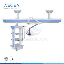 Examen quirúrgico proyección de habitación quirúrgica gas icu colgante médico doble