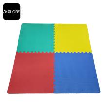 Einfarbig ungiftig Gym EVA-Bodenbelag-Puzzlematten
