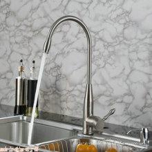 Vertikaler Einhand-Küchenarmatur