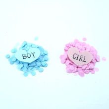 Gender reveal confetti