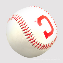 official league match custom logo weighted fur baseballs white balls bulk PVC PU leather training baseball ball