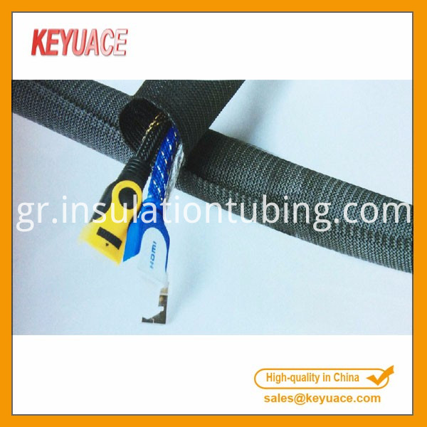 Open Type Wave Grain Braided Sleeving