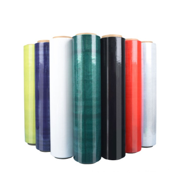 Cast Polyethylene Pack White Stretch Wrap Film China LLDPE Pallet Shrink Film Roll