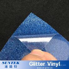 Glitter Flock Reflektierende Transferdruck Vinyl für T-Shirt