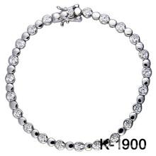 El micro de la plata de la manera pavimenta la joyería del ajuste de la CZ (K-1900. JPG)