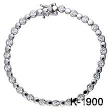 O micro da prata da forma pavimenta a jóia da definição de CZ (K-1900. JPG)