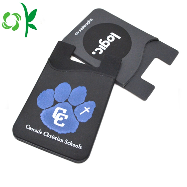 Silicone Phone Card Holder 4