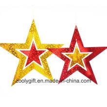 Бумага для лазерной карточки Набор висячих звездных украшений / Бумага для зависания