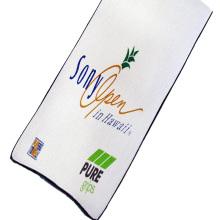 2020 print embroidery microfiber golf waffle weave towel with custom logo