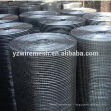 Hebei fabrique des mailles métalliques soudées galvanisées de haute qualité