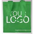 promotional Design fashion style colorful handled pp non woven bag, CMYK printed laminated customized handbag shopping non woven